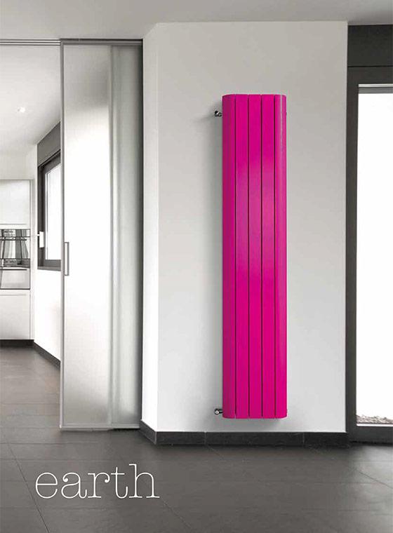 Earth decorative design radiator