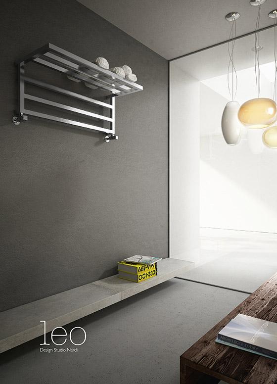 Leo  towelwarmer decorative design radiator