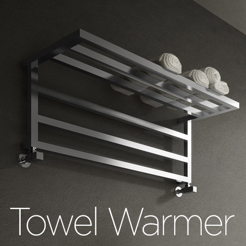 Towel Warmer | artistic design decorative radiators by Ad Hoc